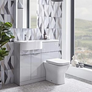 Combination Basin & Toilet Units
