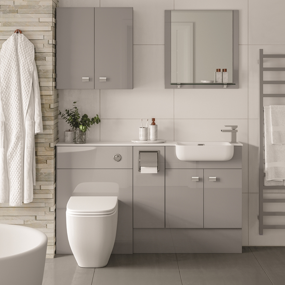 MATRIX – MULTI FINISHES – FITTED BATHROOM FURNITURE - Dale Bathrooms